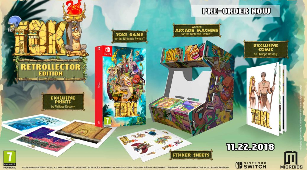 Toki Retrollector Edition Is Getting For Switch On November Nintendosoup