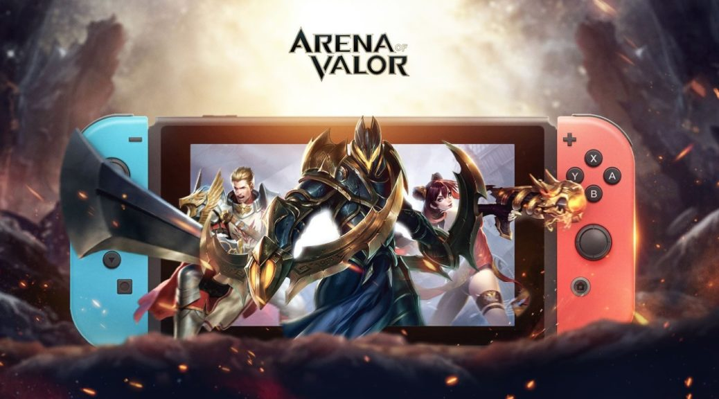 Arena Of Valor Switch Receiving Update Tomorrow | NintendoSoup