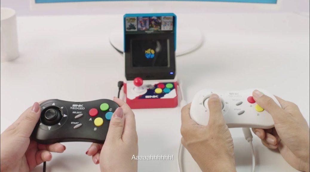 NEOGEO Mini Japanese Edition Supports English | NintendoSoup