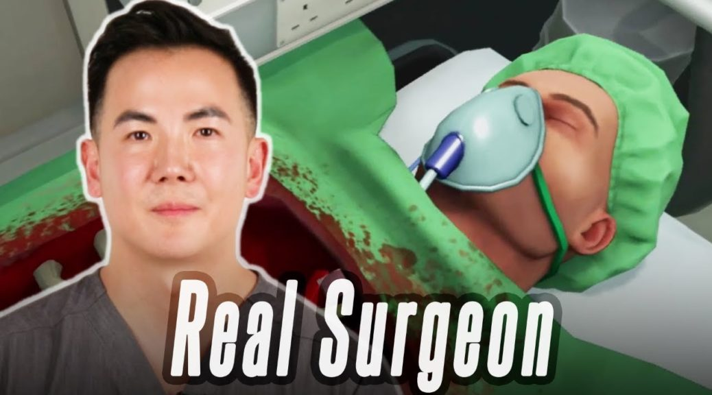Real Life Surgeon Does An Operation In Surgeon Simulator   NintendoSoup