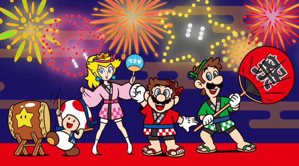 Nintendo Distributes Super Mario Wallpapers For Natsu Matsuri 2018 | NintendoSoup