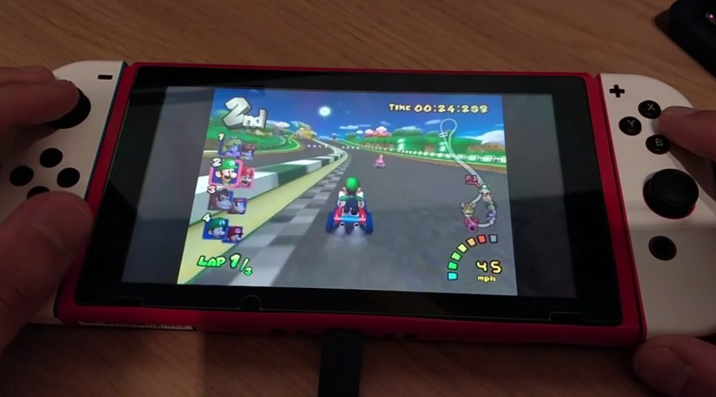 Here's A Look At Mario Kart: Double Dash Running On Nintendo