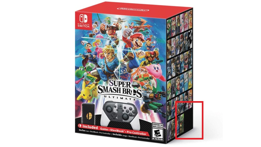super smash bros ultimate special edition box art hints at final