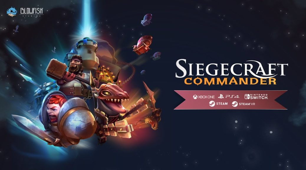 Siegecraft Commander Hurtles Toward Switch On Sept 19