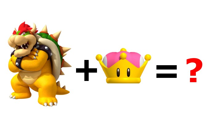 artists are drawing a peachette version of bowser and it s