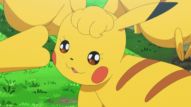 Japanese model fujita nicole is voicing a female pikachu in the pokemon anime nintendosoup - Pokemon famille pikachu ...
