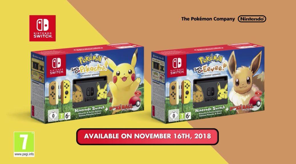 Nintendo Switch Pikachu Eevee Edition Seeing Restock In Japan