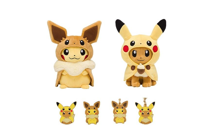 Pokemon Center Announces Adorable Fan Of Pikachu And Eevee
