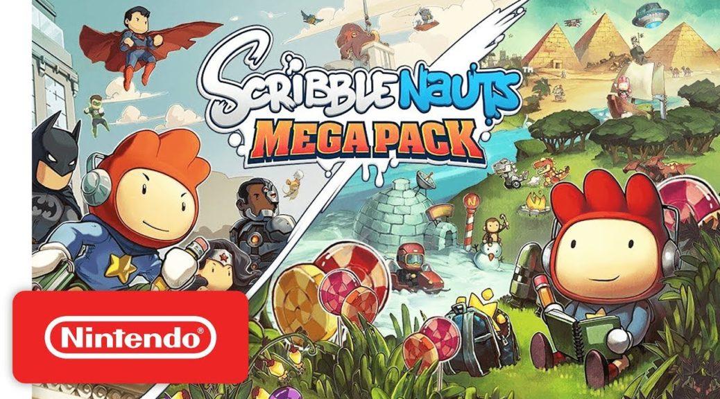 Scribblenauts Mega Pack, Undertale, And SEGA Genesis