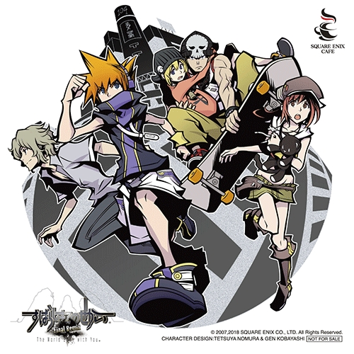 The World Ends With You: Final Remix Cafe Opening In Japan