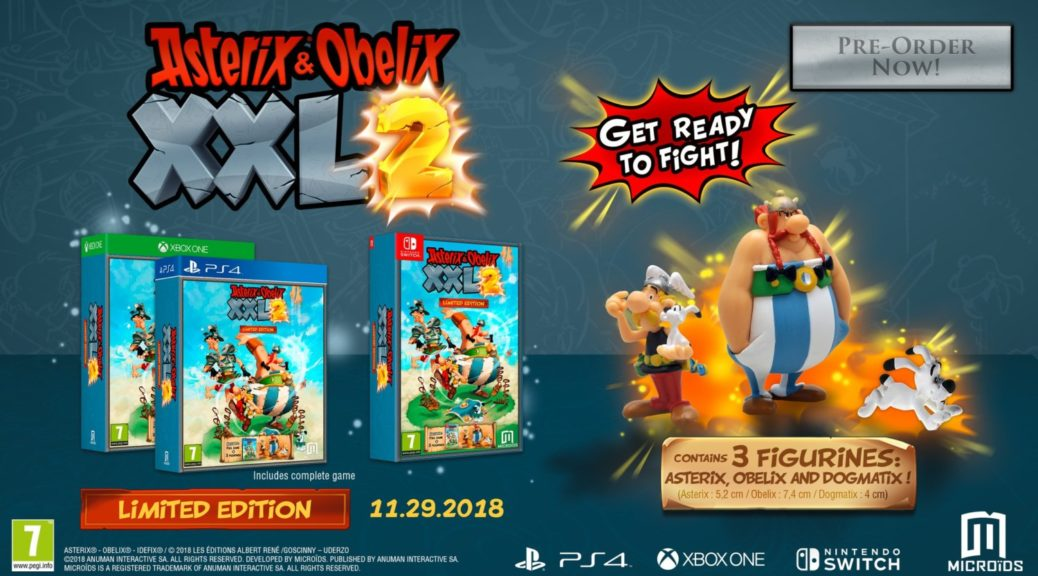Asterix Obelix Xxl 2 Limited And Collector S Edition Contents