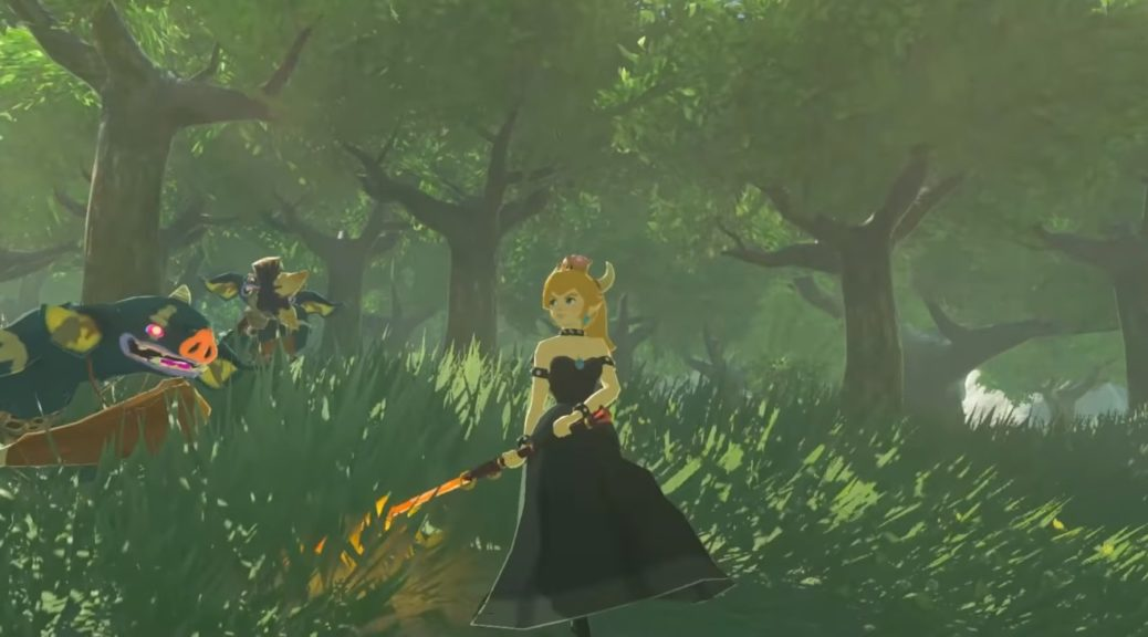 Fan Mod Adds Playable Bowsette To Zelda: Breath Of The Wild