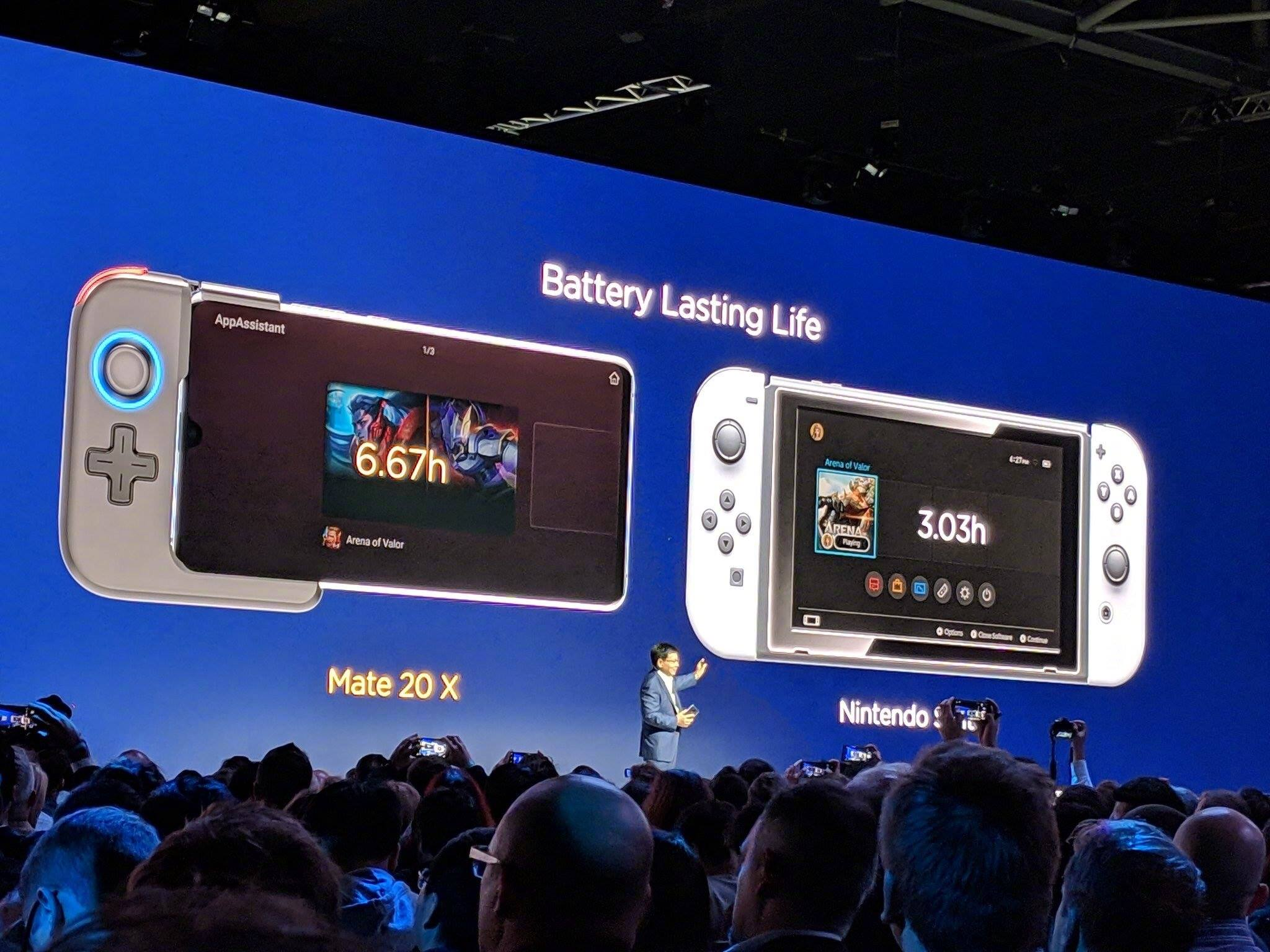 Huawei Our Smartphone Is Superior Over Nintendo Switch
