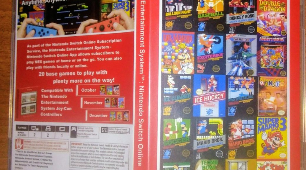 Fan Art How Nintendo Switch Online Nes Could Look Like In Physical