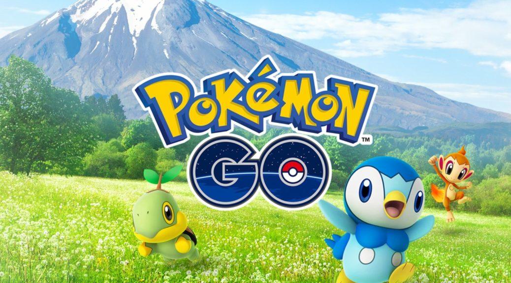 First Pokemon GO Sinnoh Region Pokemon Artwork Revealed