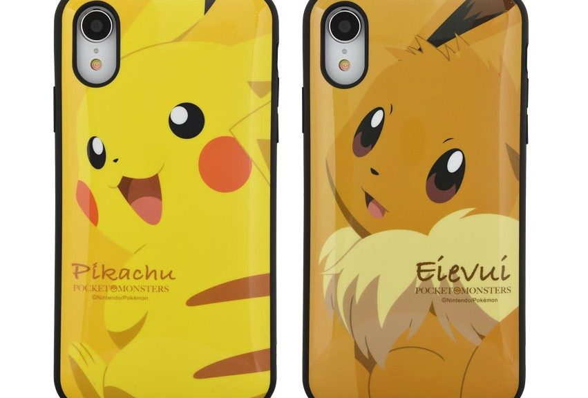 purchase cheap 834e4 90e6e First Pokemon Smartphone Cases For iPhone XS Max And iPhone XR ...