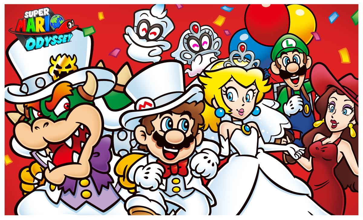 nintendo celebrates the 1 year anniversary of super mario