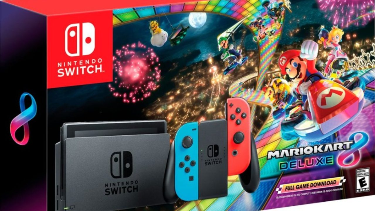 First Look At The Black Friday Nintendo Switch Mario Kart 8