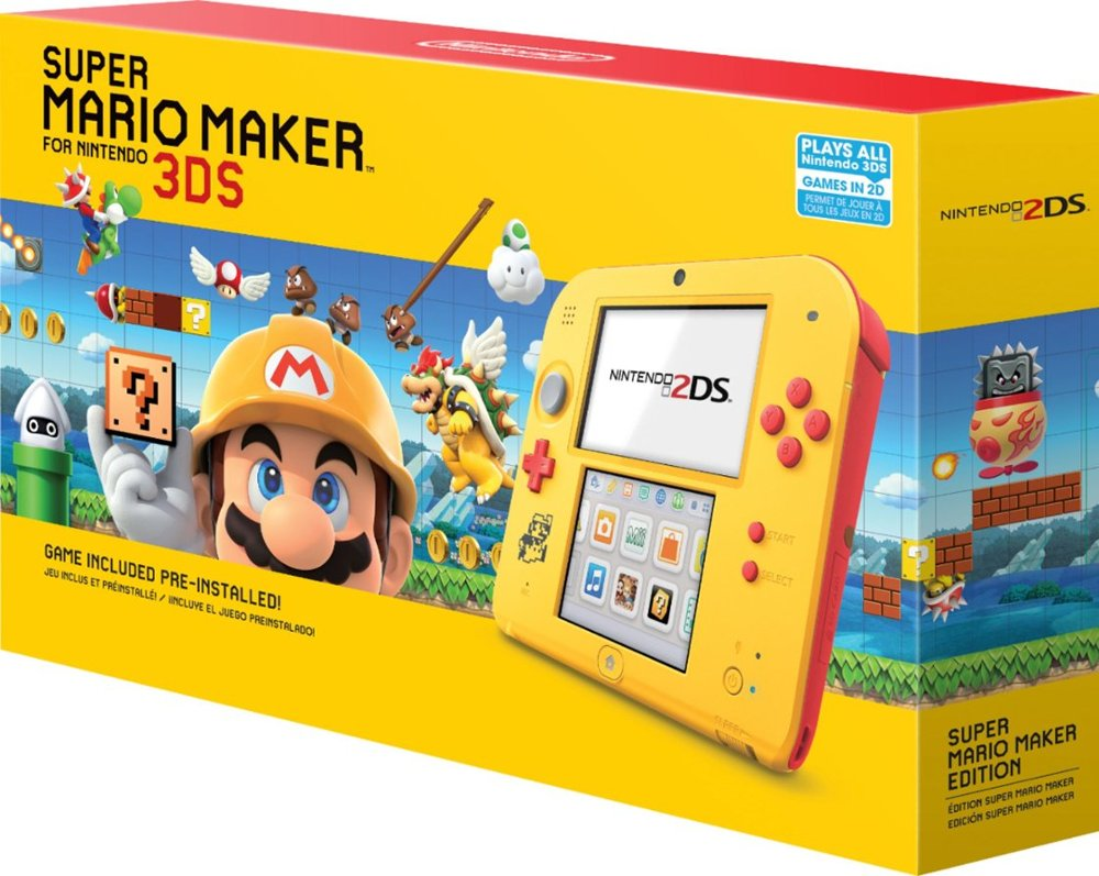 More Images Of The Super Mario Maker Edition Nintendo 2ds Nintendosoup