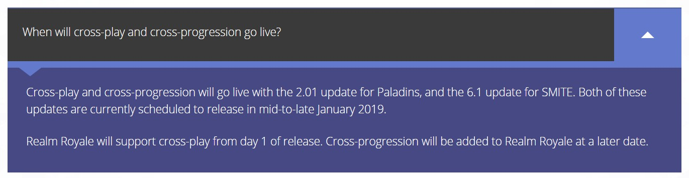 SMITE And Paladins Getting Cross-Progression And Cross