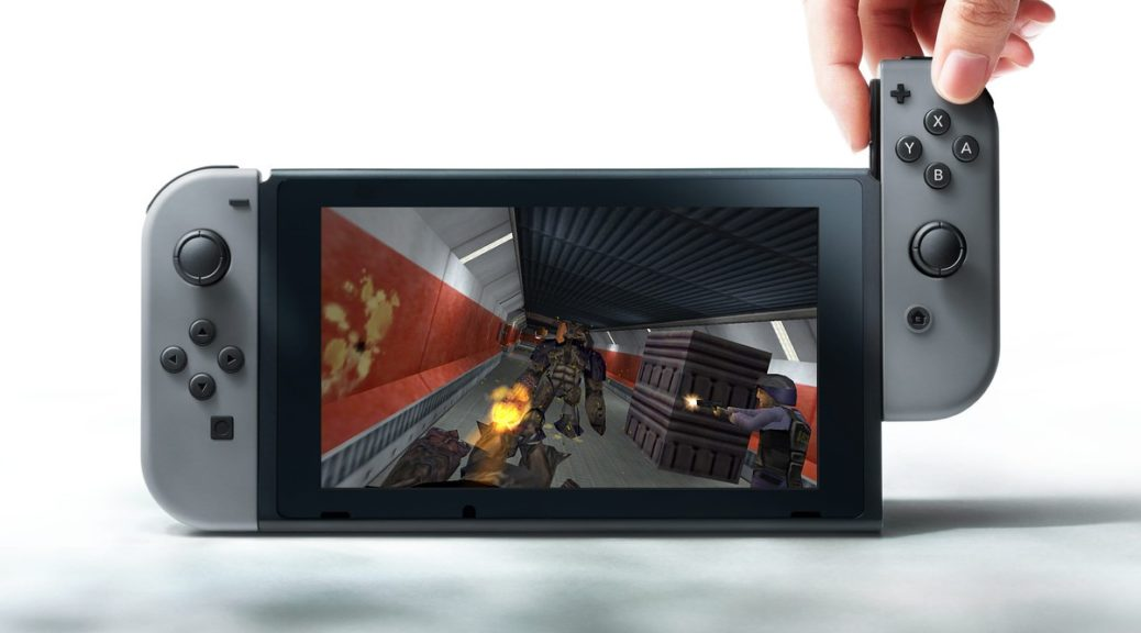 You Can Now Play Half-Life On Nintendo Switch Thanks To