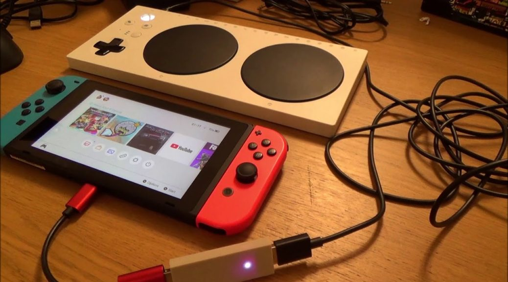 Here S How You Can Set Up The Xbox Adaptive Controller On Switch Nintendosoup