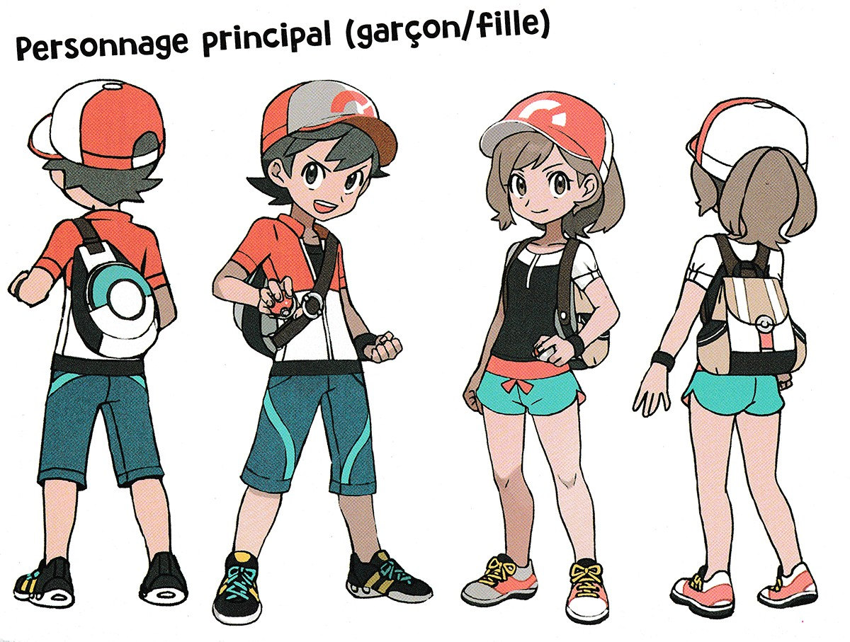 Gallery All Concept Art From The Pokemon Let S Go Official Artbook