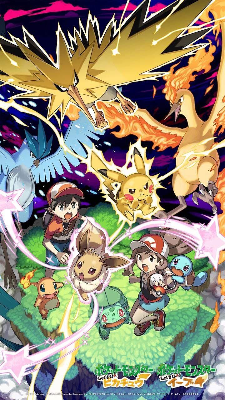 Download This New Pokemon Let S Go Wallpaper From Nintendo S Line