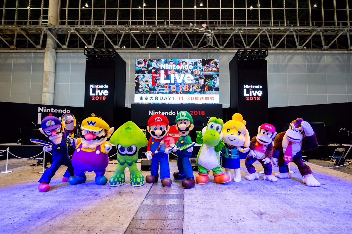 Nintendo Introduces New Character Mascots In Japan, All Are