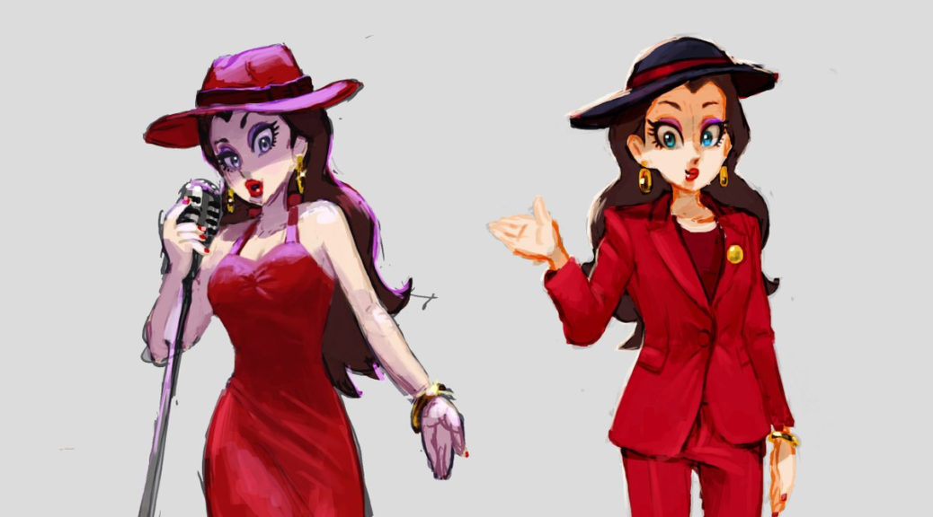Nintendo Shares Concept Art Of Mayor Pauline From Super