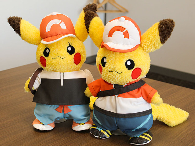 Pokemon Center Pikachu S Closet Let S Go Trainer Costumes Up For