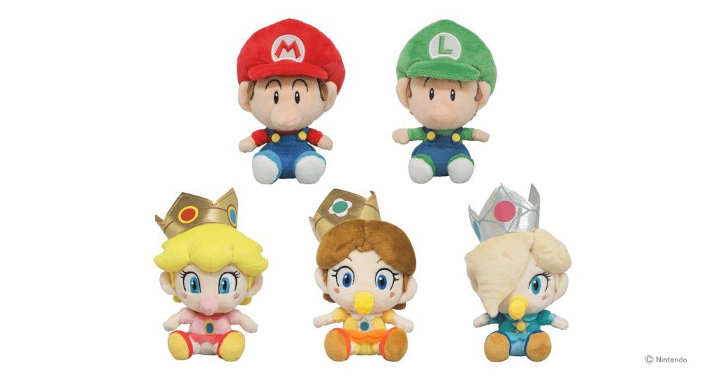 S Japan Sanei Super Mario All Star Collection Plush Doll Baby