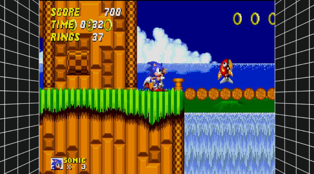 Sega Genesis Classics - Sonic the Hedgehog