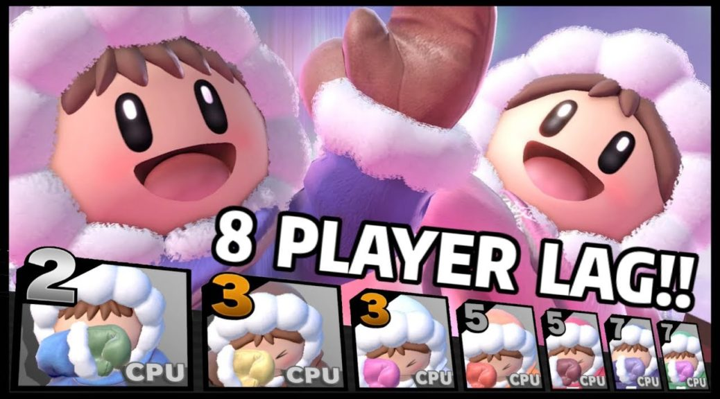 Video: 8 Players Play As Ice Climbers In Super Smash Bros