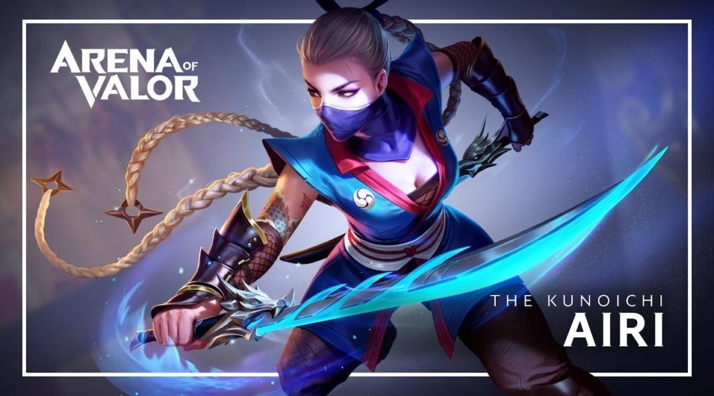 Airi Joins Arena Of Valor For Switch On December 15