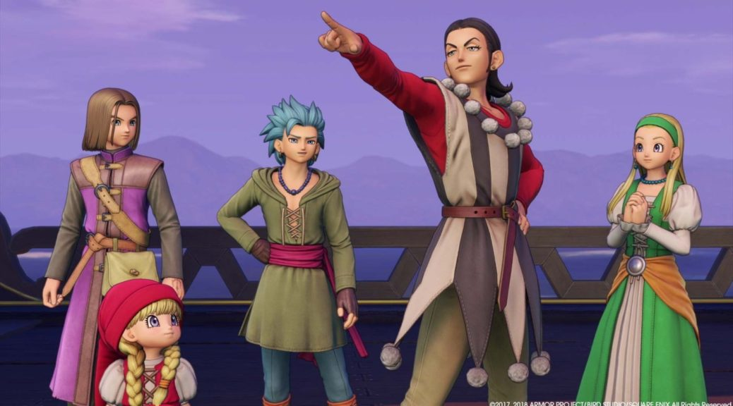 Dragon Quest XI S Has New Element Added On Switch, Yuji