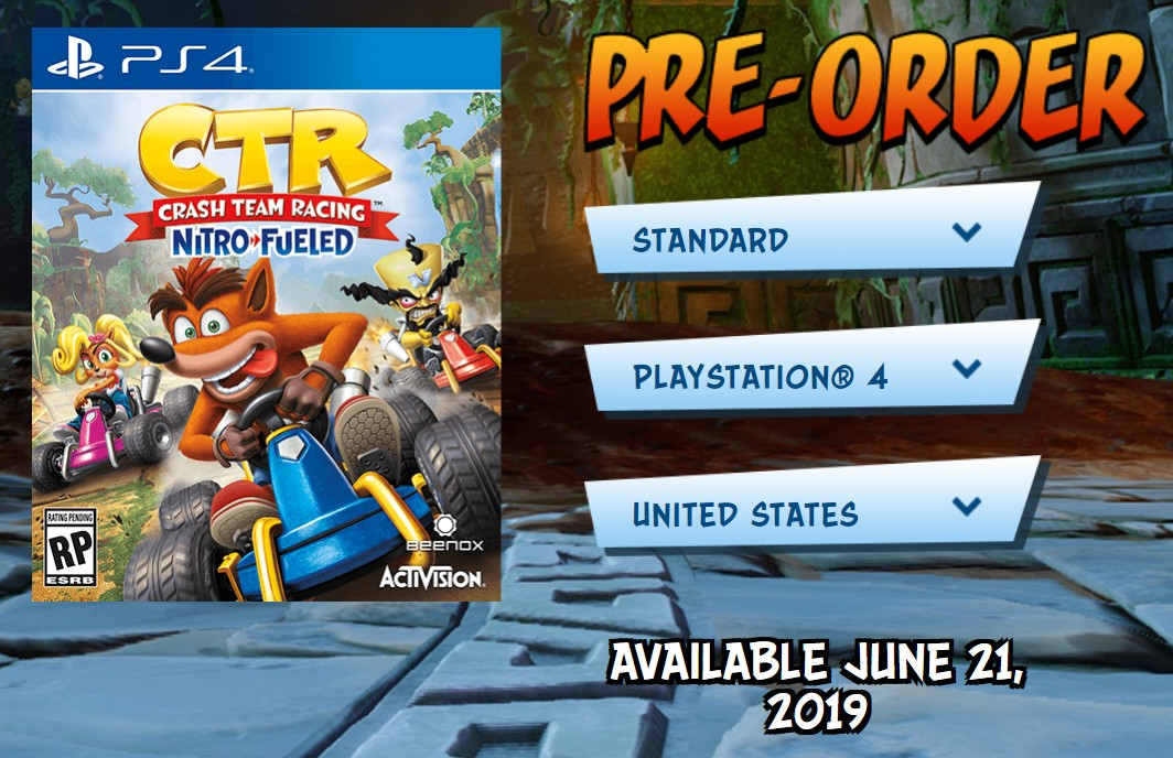 Crash Team Racing Nitro-Fueled For Switch Release Date Still
