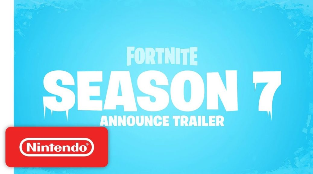 check out this christmas themed fortnite season 7 opening - fortnite cinematic pack season 7