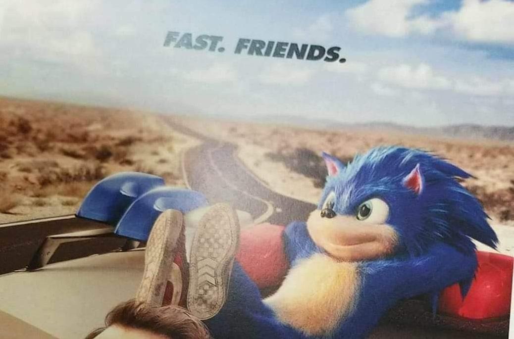 Movie Poster 2019: Rumor: Sonic's Full Movie Design Possibly Leaked