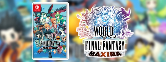 Pre-order the Asia exclusive WORLD OF FINAL FANTASY Maxima physical release