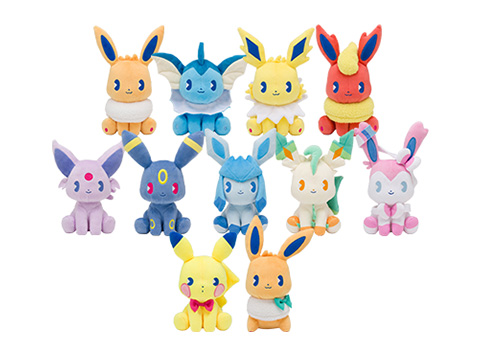 Pokemon Center Original Plush Mix Au Lait Mascot Glaceon JAPAN OFFICIAL