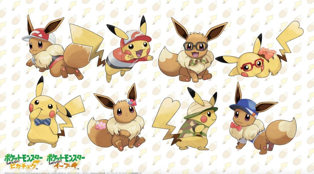 Download This Pokemon Let S Go Pikachu Eevee Wallpaper For Your Pc