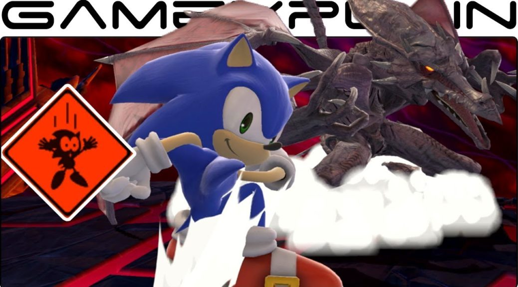 Ridley Can Instantly Kill Sonic In This Super Smash Bros