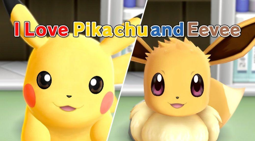 Video I Love Pikachu And Eevee Music Video Nintendosoup