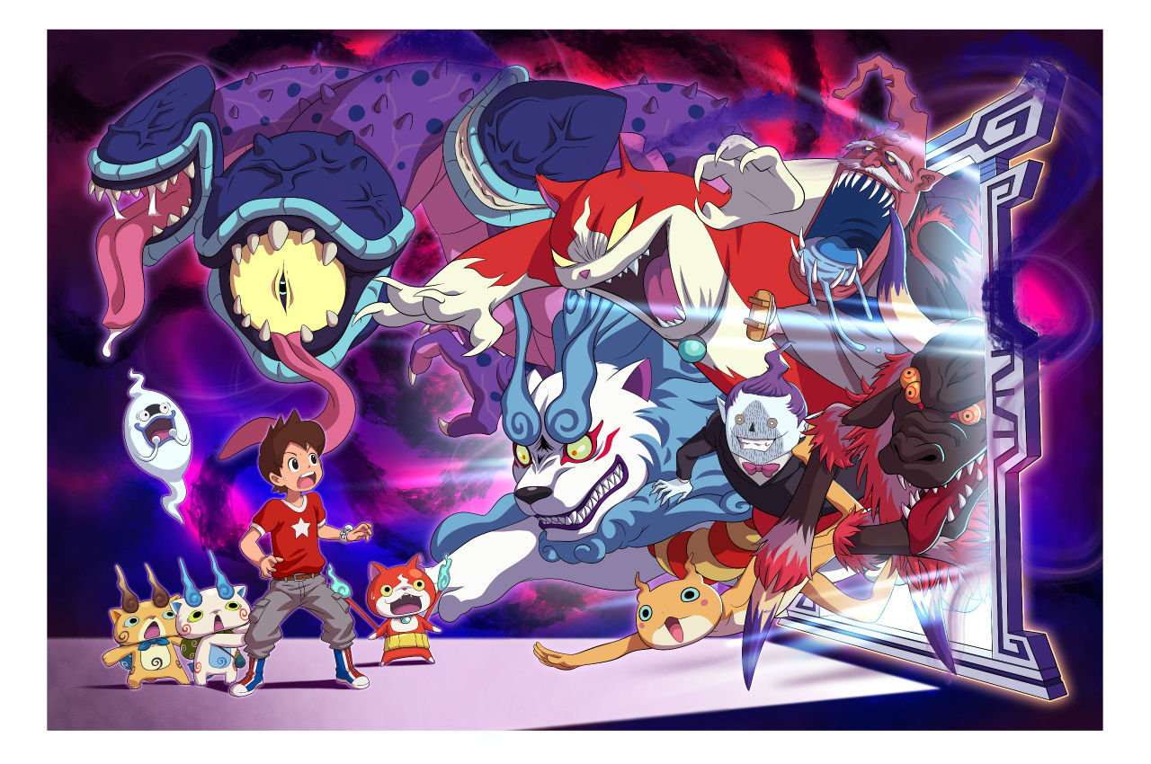 Brand New Screenshots Have Been Revealed For Yokai Watch 4