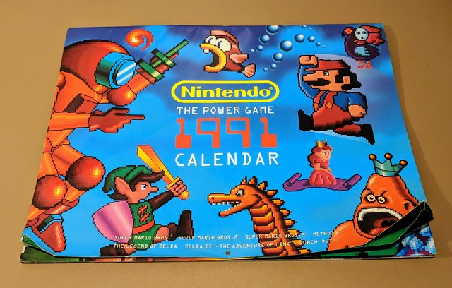This Bizarre Nintendo Calendar From 1991 Is Usable Again In 2019