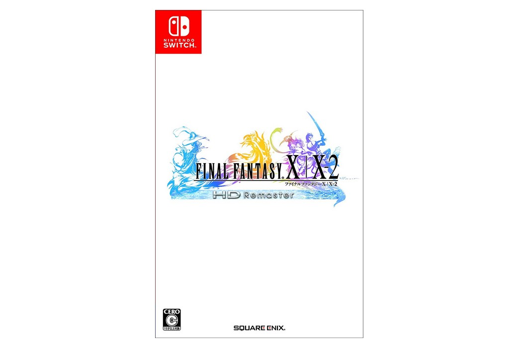 Final Fantasy X|X-2 HD Remaster Switch Japanese Boxart, Screenshots, And Amazon Japan Bonus Unveiled