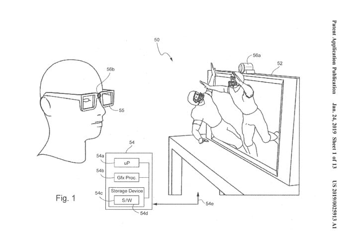 Nintendo Has Filed A New Patent For Eye Tracking 3d On Regular Tvs