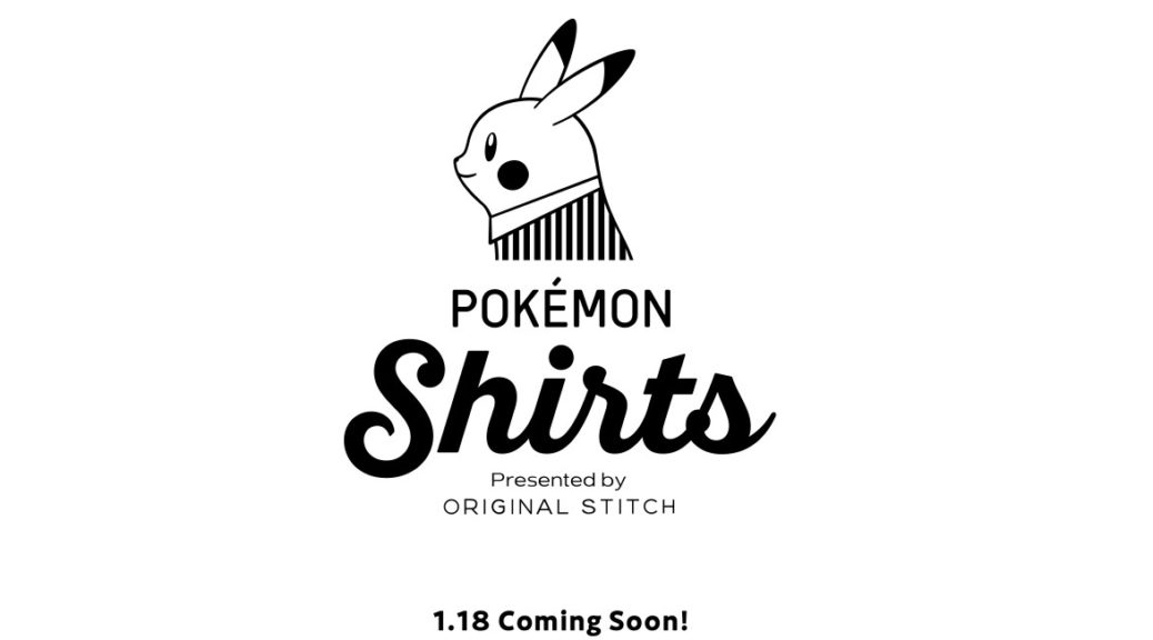 482c140a Pokemon Shirts Collaboration With Original Stitch Announced   NintendoSoup
