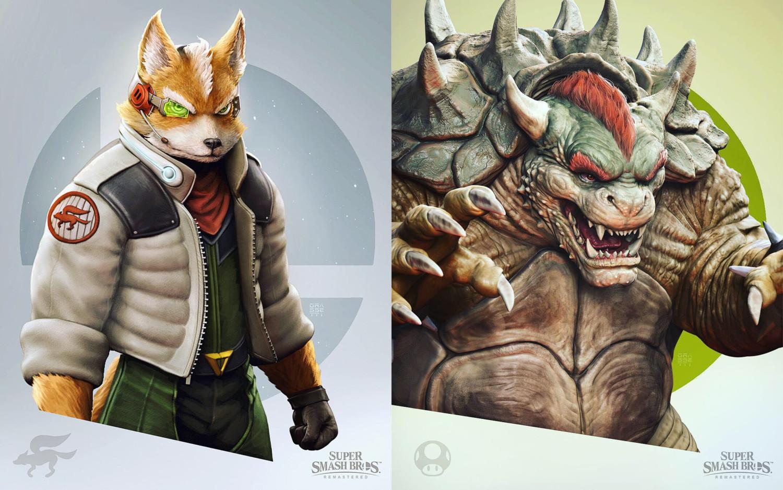 God Of War Artist Returns With Remastered Fan Art Of Fox